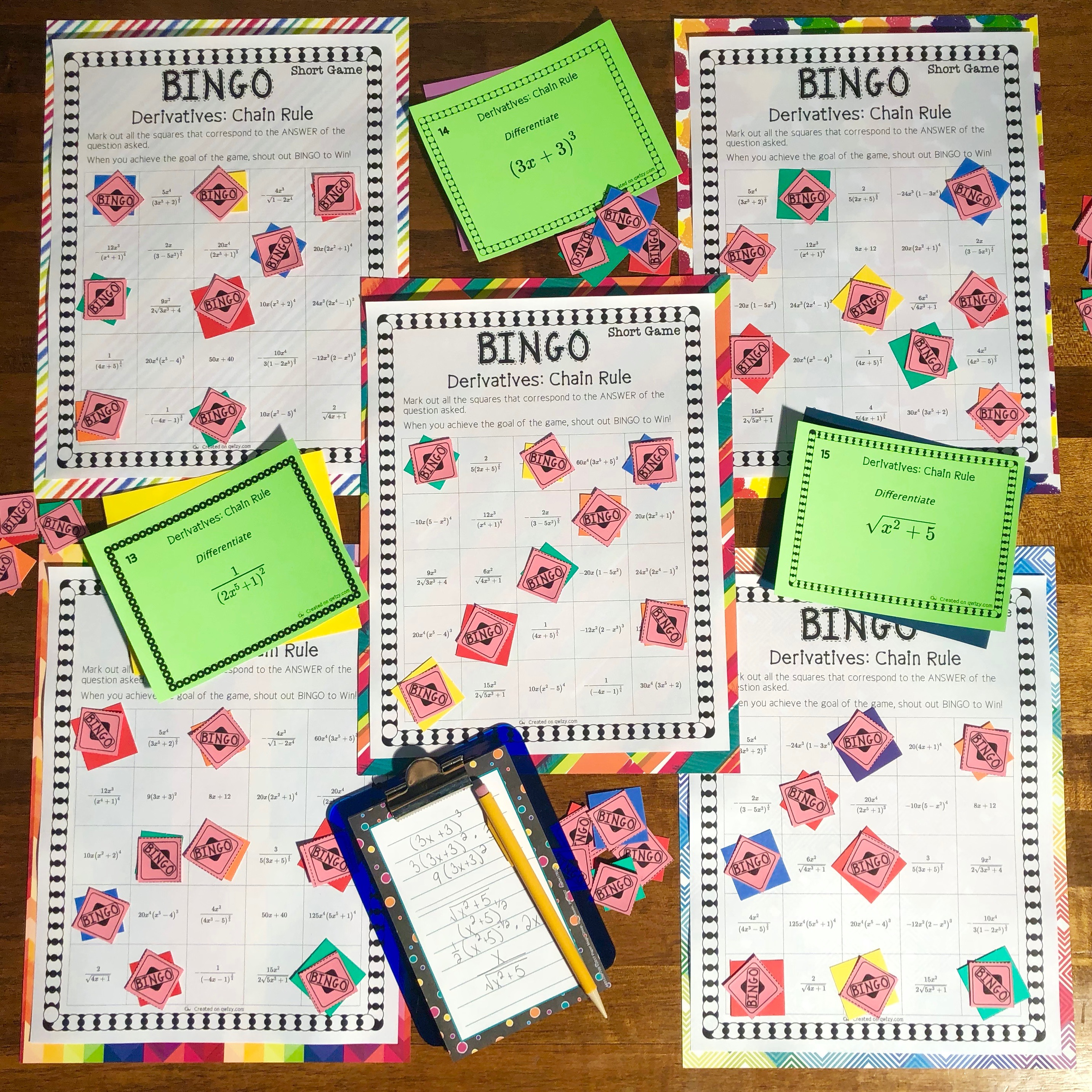 Bingo in the Classroom
