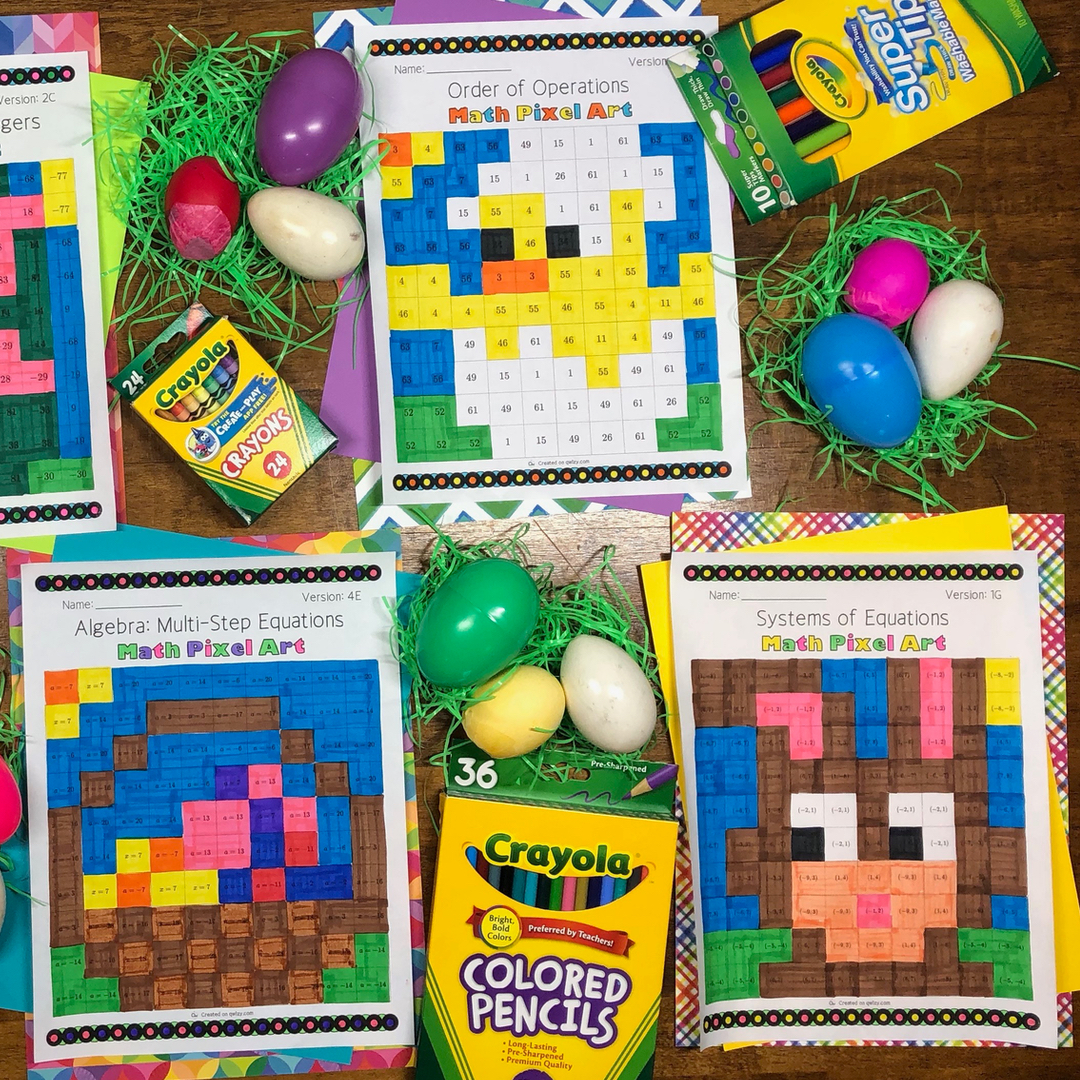 The Easter bunny has brought us Pixel Arts