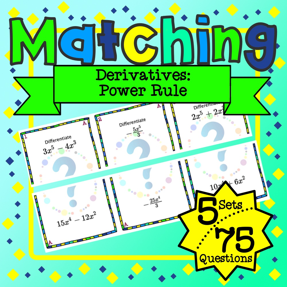 Power Rules Matching Game