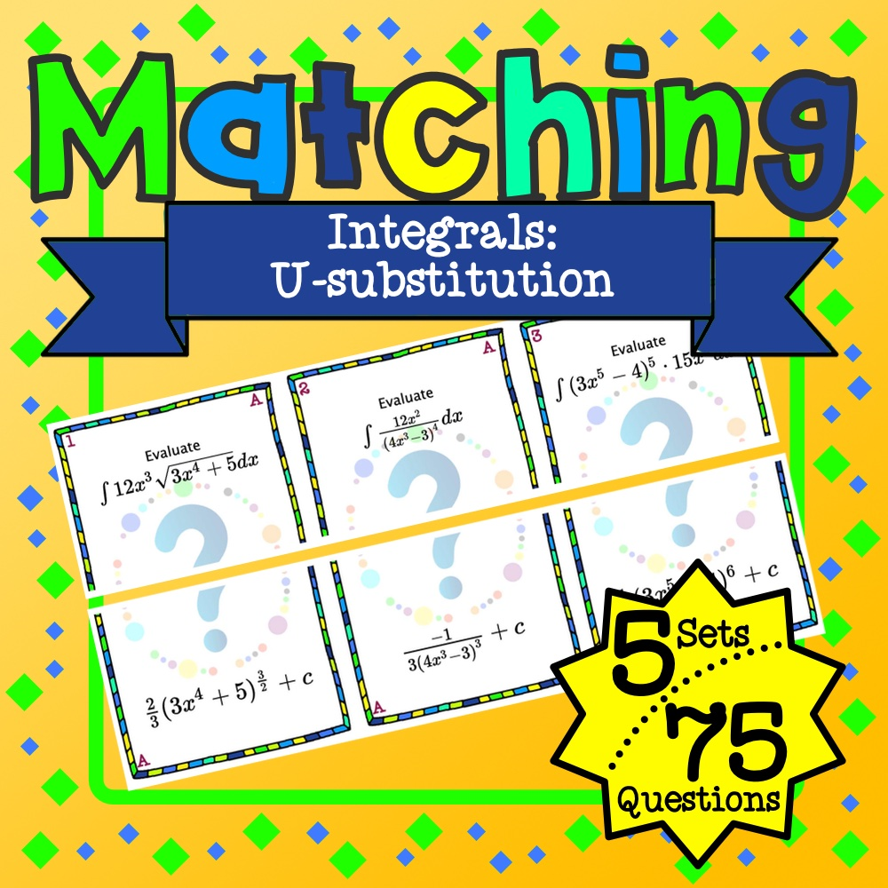U-substitution Matching Game